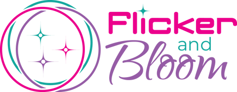 Flicker and Bloom logo