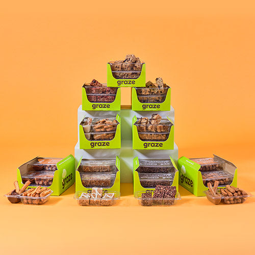 graze flapjacks and dippers bundle