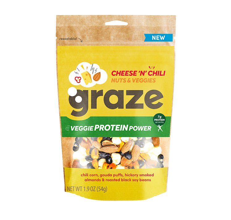 cheese n chili veggie protein power midsize bag