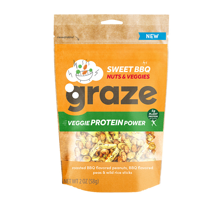 sweet BBQ veggie protein power midsize bag