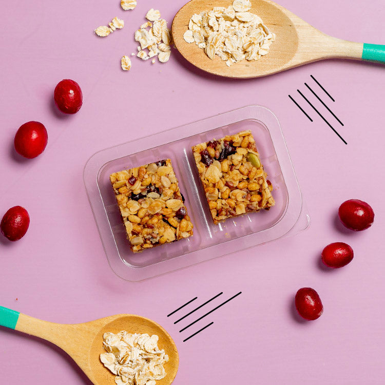 graze berry oat squares with superfoods multipack