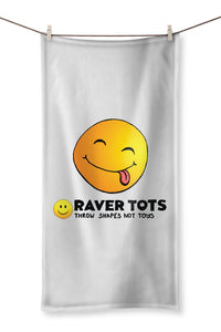 Smiley Face Tongue Towel
