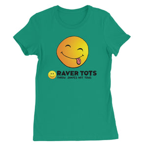 Smiley Face Tongue Women's Favourite T-Shirt