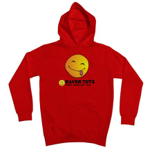 Load image into Gallery viewer, Smiley Face Tongue Kids Retail Hoodie