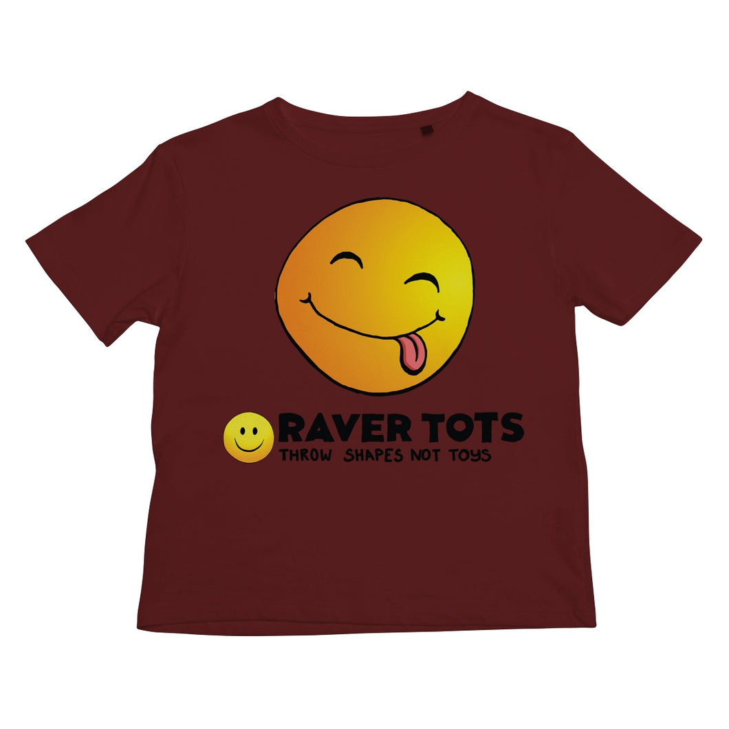 Smiley Face Tongue Kids Retail T-Shirt