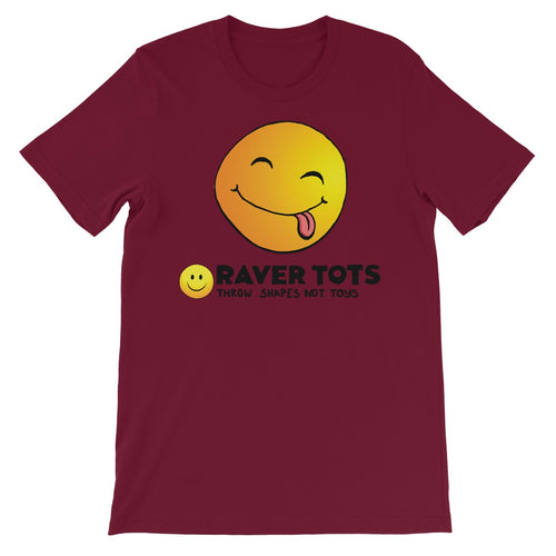 Smiley Face Tongue Unisex Short Sleeve T-Shirt