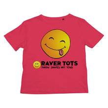 Load image into Gallery viewer, Smiley Face Tongue Kids Retail T-Shirt