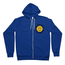 Load image into Gallery viewer, Face Logo Unisex Full Zip Hoodie