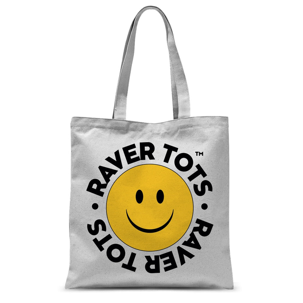 Face Logo Tote Bag