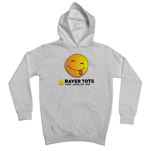 Smiley Face Tongue Kids Retail Hoodie