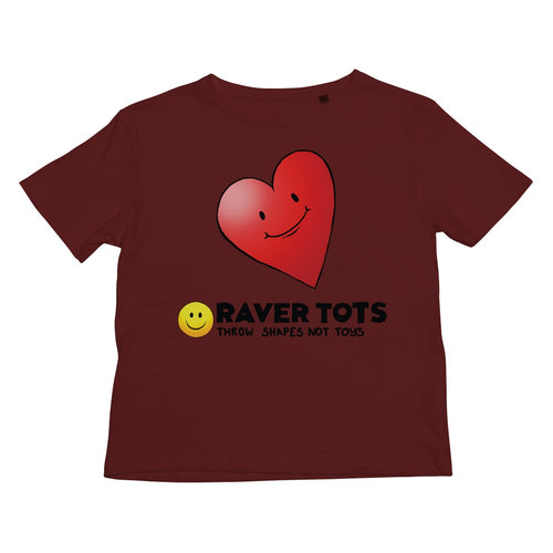 I Heart Raver Tots Kids Retail T-Shirt