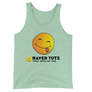 Smiley Face Tongue Unisex Jersey Tank Top