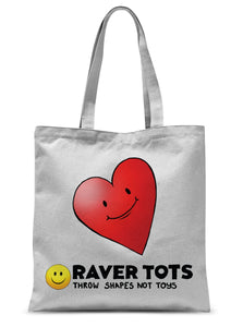 I Heart Raver Tots Tote Bag