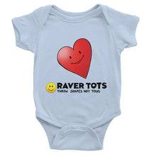 Load image into Gallery viewer, I Heart Raver Tots Baby Bodysuit