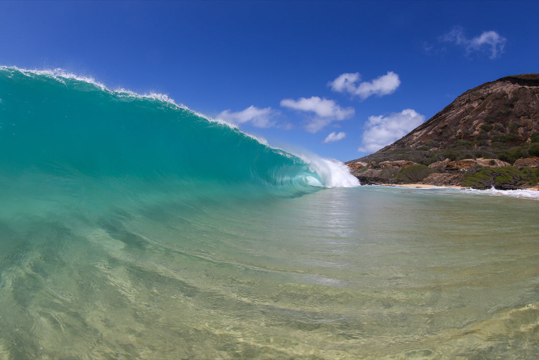 Sandy Line - Honolulu, Hawaii
