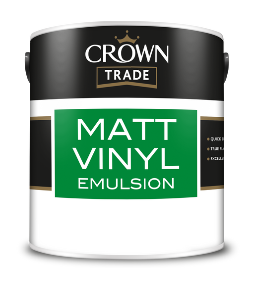 Crown Trade Vinyl Matt Emulsion (water based)