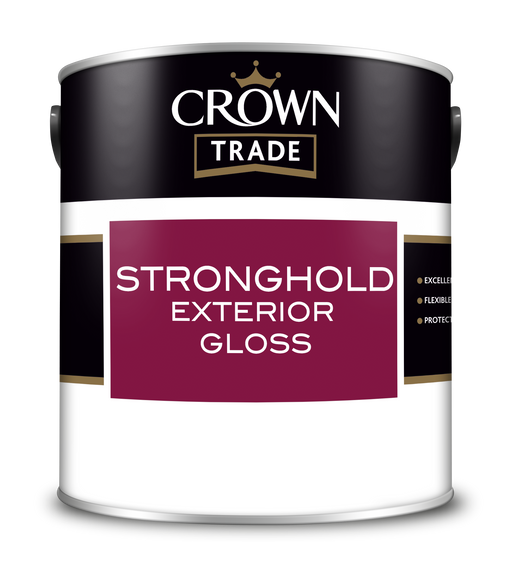 Crown Trade Stronghold Exterior Gloss (solvent based)