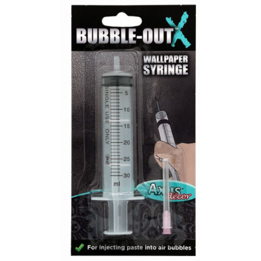 Bubble Out Wallpaper Syringe