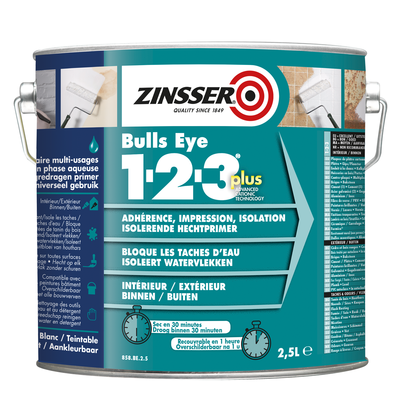 Zinsser Bulls Eye 1-2-3 Plus Sealer