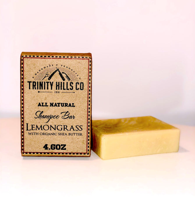 Lemongrass Shampoo Bar