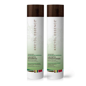 Haitian Black Castor Oil Growth Shampoo + Conditioner 8oz.
