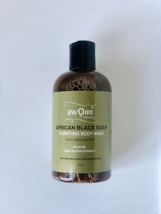 African Black Soap Body Wash