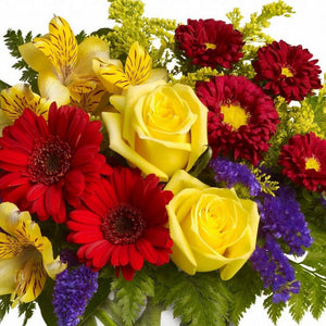Bright Bouquet of seasonal cut flowers
