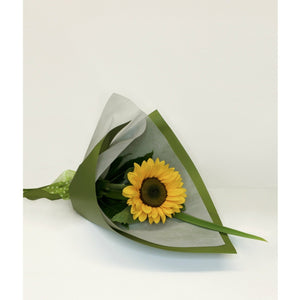 Single Flower Giftwrapped
