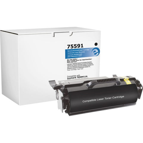 Elite Image 75591 Remanufactured Lexmark Toner Cartridge