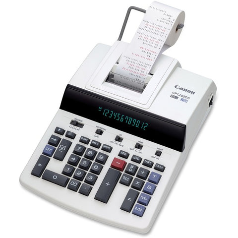 Canon, Inc CP1200DII Commercial Desktop Calculator