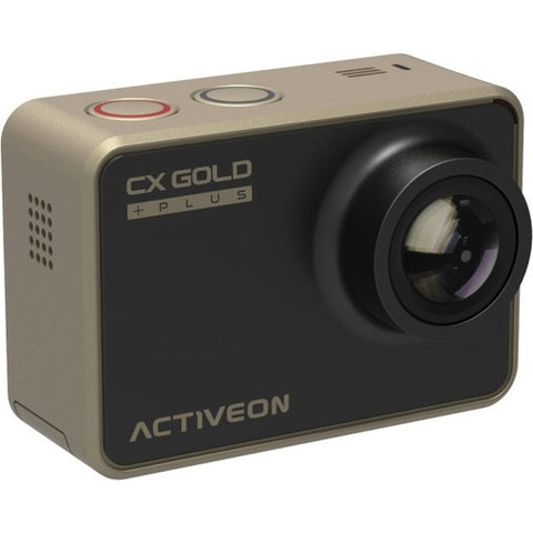 "ACTIVEON Digital Camcorder - 2"" - Touchscreen LCD - CMOS - Full HD - Gold"