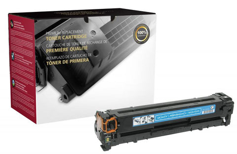 Clover Technologies Group, LLC CIG Compatible Cyan Toner Cartridge (Alternative for HP CB541A 125A) (1400 Yield)