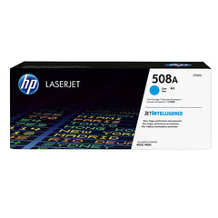 HP 508A (CF361A) Color LaserJet M552 M553 (Flow) MFP M577 Cyan Original LaserJet Toner Cartridge (5000 Yield)