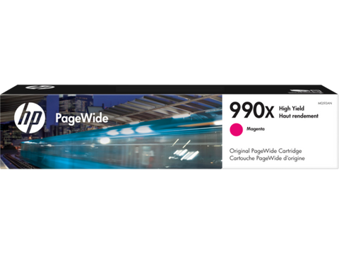 HP 990X (M0J93AN) PageWide Pro 750dw MFP 772 777 High Yield Magenta Original PageWide Cartridge (20000 Yield)