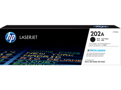 HP 202A (CF500A) Color LaserJet Pro M254 MFP M281 Black Original LaserJet Toner Cartridge (1400 Yield)