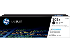 HP 202X (CF500X) Color LaserJet Pro M254 MFP M281 High Yield Black Original LaserJet Toner Cartridge (3200 Yield)
