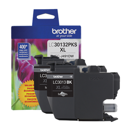 Brother Industries, Ltd LC30132PKS 2-Pack High-yield Black Ink Cartridge