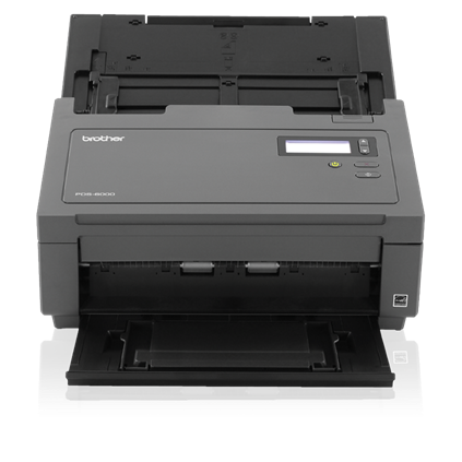"Brother Workhorse PDS-6000 Color Desktop Scanner (80 ppm) (8-bit Grayscale) (24-bit Color) (8.5"" x 236"") (600 x 600 dpi) (Duplex) (USB) (Energy Star) (100 Sheet DADF)"