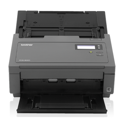 "Brother Workhorse PDS-5000 Color Desktop Scanner (60 ppm) (8-bit Grayscale) (24-bit Color) (8.5"" x 236"") (600 x 600 dpi) (Duplex) (USB) (Energy Star) (100 Sheet DADF)"