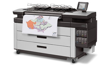 HP PageWide XL 6000 40-in MFP w/ High-capacity Stacker and PostScript