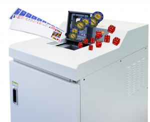 Formax FD87 Cross-Cut Casino Shredder