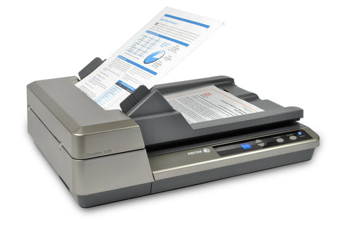 Xerox  DocuMate 3220  Flatbed/ADF workgroup document scanner.  50