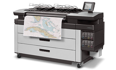 HP PageWide XL 5100 40-in MFP w/ High-capacity Stacker and PostScript/PDF