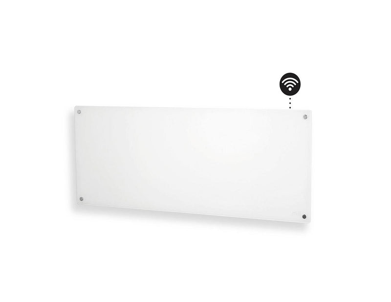 Mill Heater Glass Wall Panel 1200W Wifi Enabled