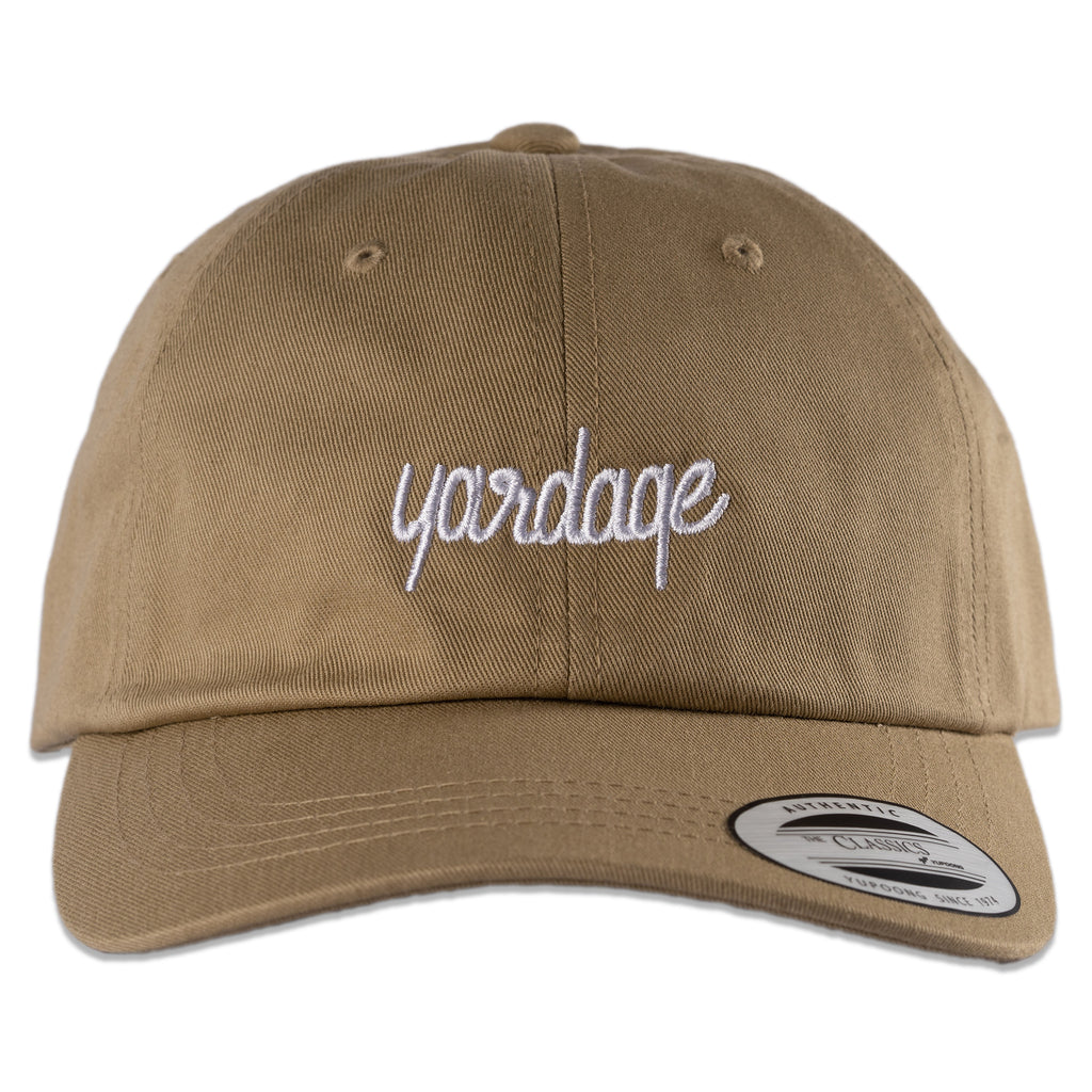 Unstructured Golf Hat, Khaki