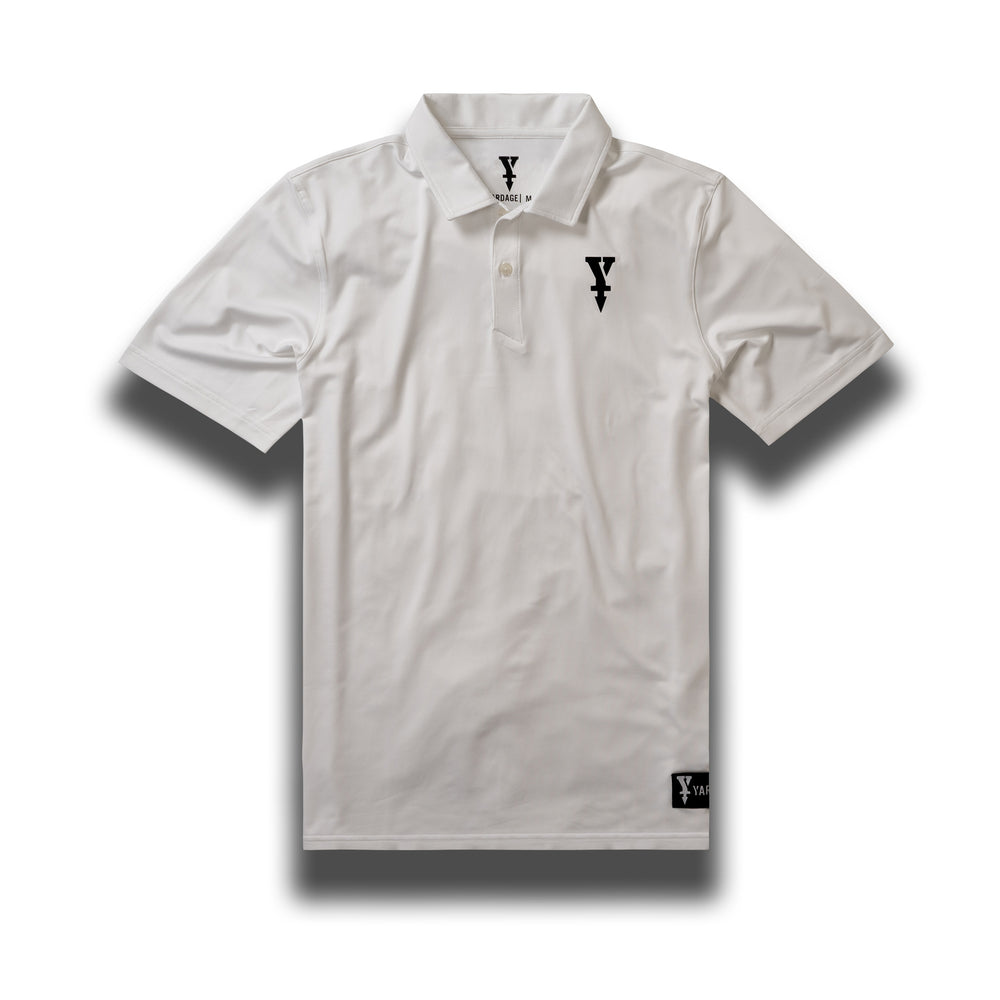 Golf Polo Shirt, White