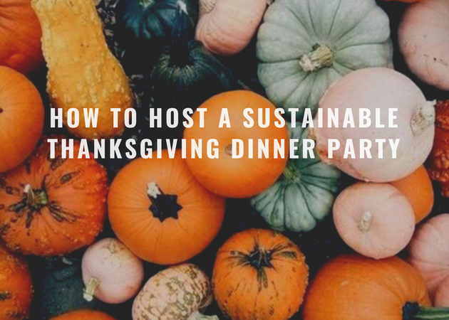 How to Host a Sustainable Thanksgiving Dinner Party