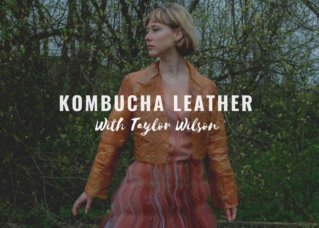 Kombucha Leather? Time for Innovation: Order your first Kombucha Leather Jacket
