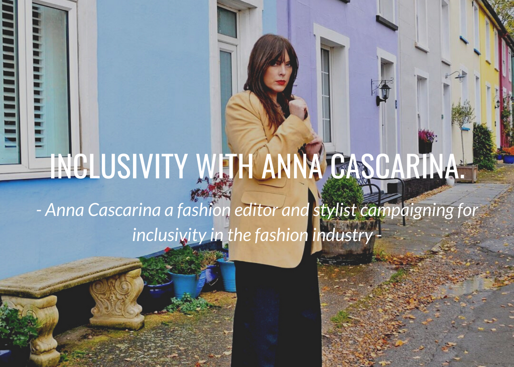Inclusive fashion with Anna Cascarina...