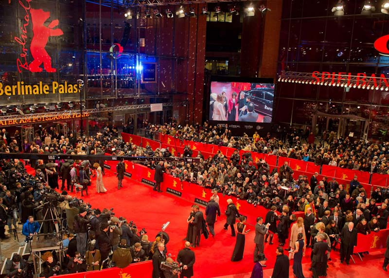 The greenest red carpet of the Berlinale or Berlin Film Festival
